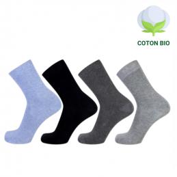 Chaussettes femme en coton Bio