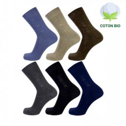 Chaussettes homme en coton Bio