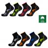 Socquettes de running en coton Bio