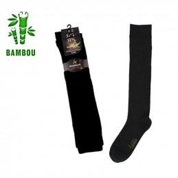 Mi-bas en fibre de bambou