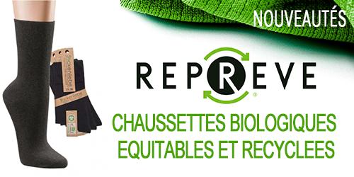 Nouveau : Chaussettes biologiques, équitables & recyclées
